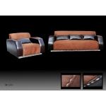 Кожаный диван МЭ-33