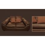 Кожаный диван MЭ-349