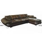 Кожаный диван МЭ-352