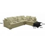 Кожаный диван МЭ-354