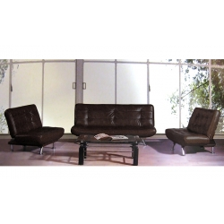 Кожаный диван A34